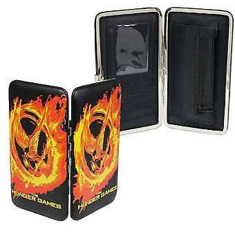 Hunger Games Girl On Fire Mockingjay Hard Cover Wallet