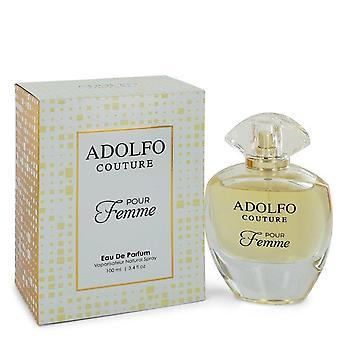 Adolfo Couture Pour Femme Eau De Parfum Spray por Adolfo 3,4 oz Eau De Parfum Spray
