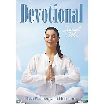 Devotional Journal Titles by Flash Planners and Notebooks