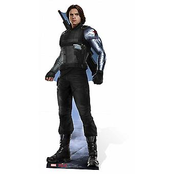 The Winter Soldier Bucky Barnes Marvel Lifesize Cardboard Cutout / Standee / Stand Up