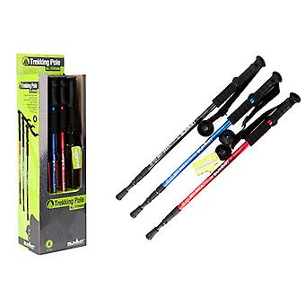 Summit 3 Section Trekking Pole Anti Shock Red