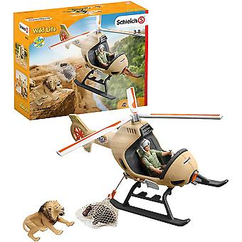 Schleich 42476 Wildlife Animal Rescue Helikopter