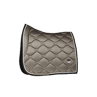 PS of Sweden Ps Of Sweden Monogram Full Size Dressage Saddle Pad - Ice Coffee