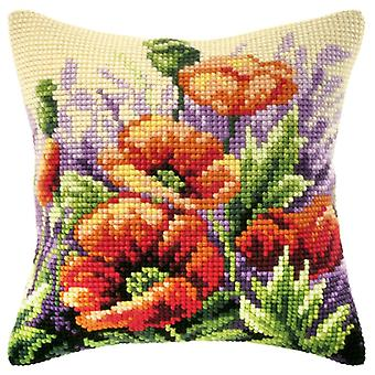 Orchidea Tapestry Kit - Poppies