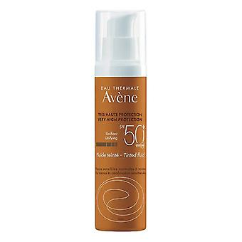 Sun Protection with Colour Solaire Haute Avene Spf 50+ (50 ml)