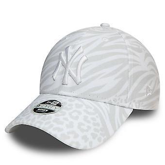 New Era 9Forty Femeii Cap - New York Yankees animal alb