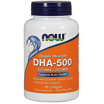 Now Foods Dha - 500 dubbele sterkte 90 capsules