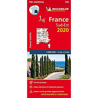 Southeastern France - Michelin National Map 709 - Map - 9782067242852
