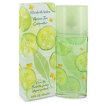 Green Tea Cucumber Eau De Toilette Spray By Elizabeth Arden 3.3 oz Eau De Toilette Spray