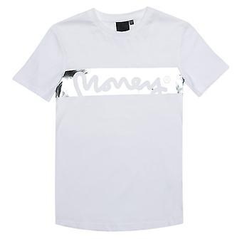 Boy's Money Junior Block Sig T-Shirt in White