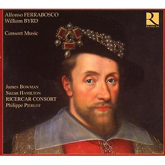 Byrd/Ferrabosco - Alfonso Ferrabosco, William Byrd: Consort Music [CD] USA import