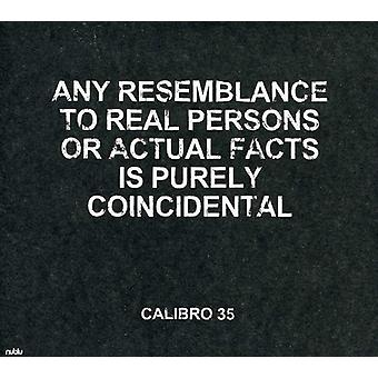 Calibro 35 - Any Resemblance to Real Persons or Actual Facts Is [CD] USA import