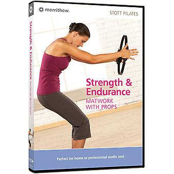 Strength & Endurance: Matwork with Props [DVD] USA import