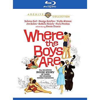 Where the Boys Are (1960) [Blu-ray] USA import