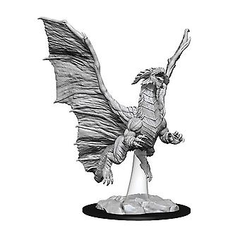 D&D Nolzur's Marvelous Unopliced Minis Young Copper Dragon