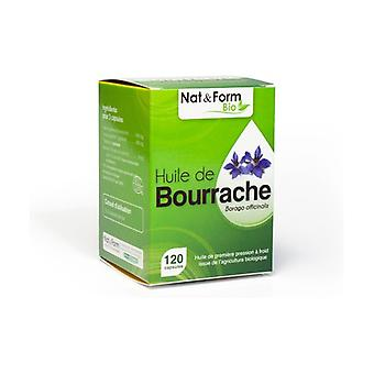 Organic Borage Oil 120 capsules