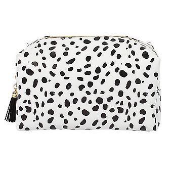 Something Different Dalmatian Print Make Up Bag