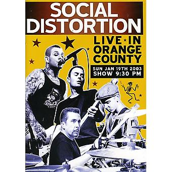 Social Distortion - Live in Orange County [DVD] USA import