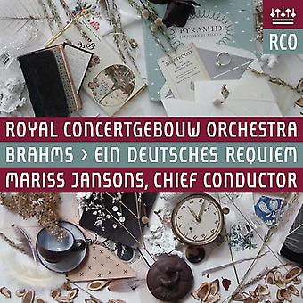 Brahms / Kuehmeier / Royal Concertgebouw Orch - Ein Deutsches Requiem [SACD] USA import