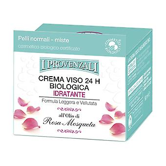 Organic Rose Moisturizing Cream 50 ml of cream