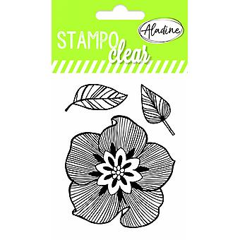 Aladine Flowers Clear Stamps
