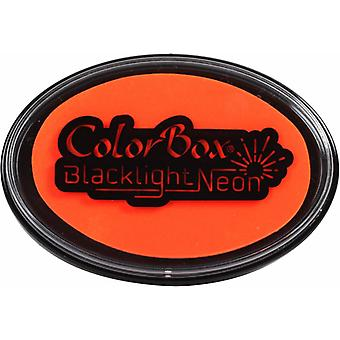 Clearsnap ColorBox Blacklight Neon Oval Inkpad Blazing