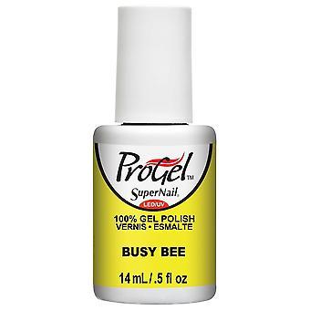 SuperNail ProGel Gel Nail Polish - Busy Bee 14ml