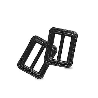 25mm Black Slider Buckle