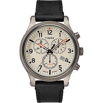 TW2T32700, Timex Lab Todd Snyder Timex Style Herrenuhr / Creme