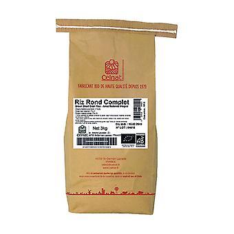 Round Brown Rice 3 kg