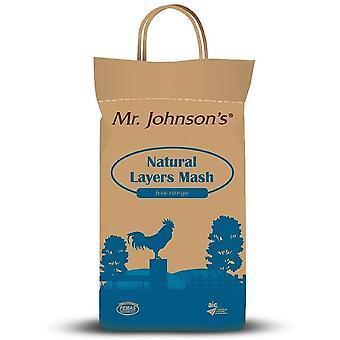 Mr Johnsons természetes rétegek Mash - 5kg