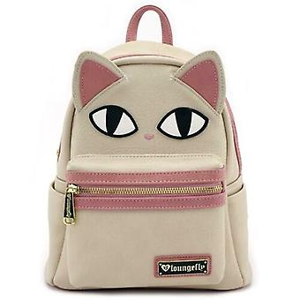 Loungefly Cat Eyes Faux Leather Mini Backpack