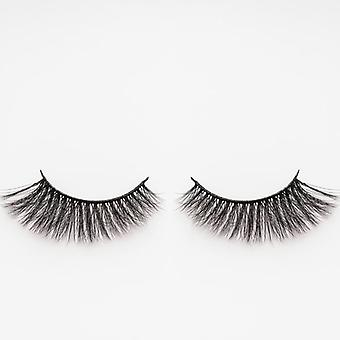 xoBeauty Faux Mink False Lashes - Thunder - Incredible 3D Design and Volume