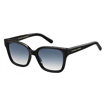 Sunglasses Women rectangular black/blue/grey