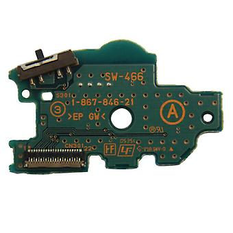Power switch pcb board for psp sony console internal replacement | zedlabz