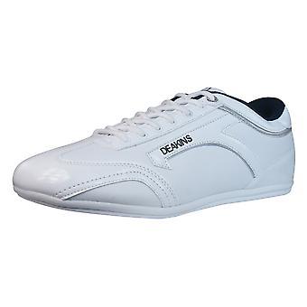 Nicholas Deakins Draco Mens Trainers / Shoes - White