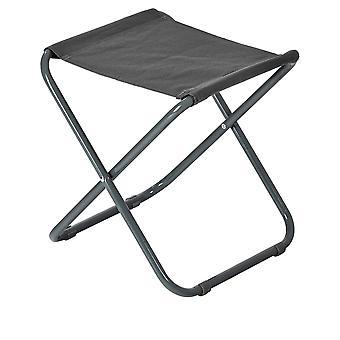Taburete plegable clásico - material ligero diseño plegable práctico - gris