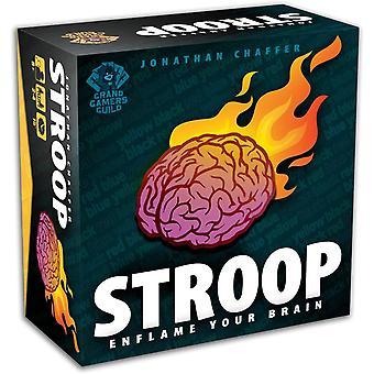 Stroop Card Game