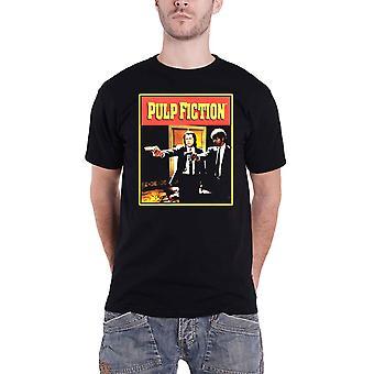 Pulp Fiction T Shirt Vengeance Movie Logo new Official Mens Black