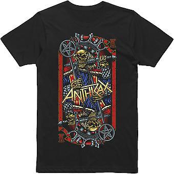 Anthrax Evil Kings World Tour T shirt
