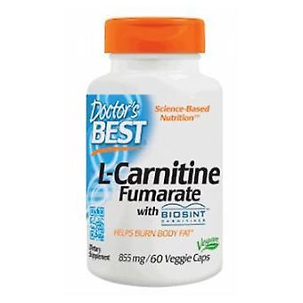 Lääkärit Paras L-karnitiini Fumarate mukana Sigma Tau Karnitiini, 855 mg, 60 Kasvis caps