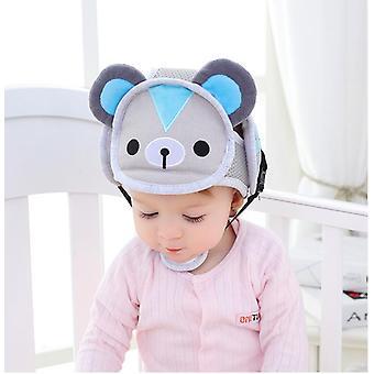 Baby Säugling Schützende Baumwolle Kopf - Schutz Soft Hat Helm, Anti-Kollision