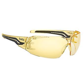 Bolle Safety SILEX Safety Glasses - Yellow SILEXPSJ