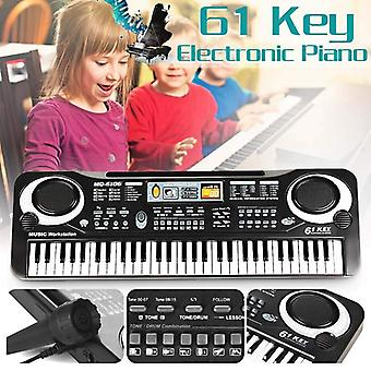 Digital Music Electronic Keyboard Piano, Us Plug Educational Toy