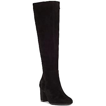 INC International Concepts Womens Radella Leather Almond Toe Knee High Fashio...