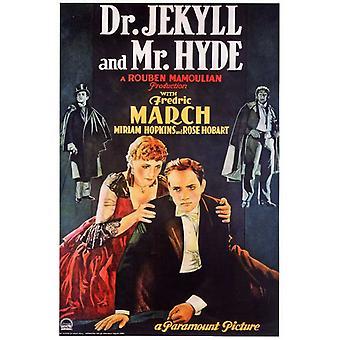 Tohtori Jekyll ja herra Hyde elokuvan juliste tulosta (27 x 40)