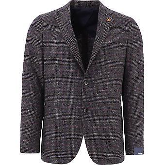 Lardini Im546aeimc55507450bl Men's Brown Wool Blazer
