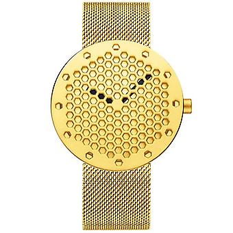 CRRJU 2143 Creative Hollow Dial Design Fashion Needle Quartz Watch