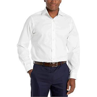 Marca - abotonado abajo hombres's Classic-Fit Spread Collar sólido no hierro D...