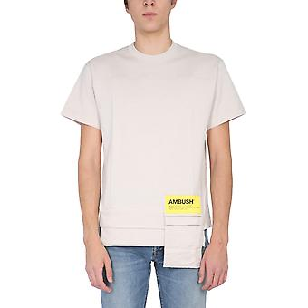 T-shirt in cotone beige Bmaa004f20jer0016100 uomo